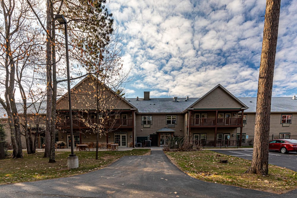 Assisted Living apartments at Milestone Senior Living in Eagle River, Wisconsin.