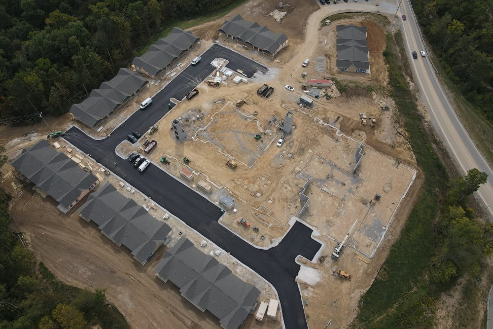 Aerial view of Legacy Living Florence in Florence, KY