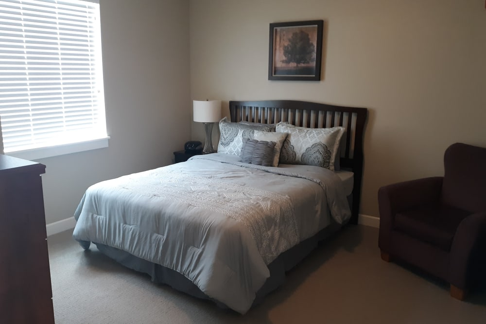 Bedroom at Emery Place in Robins, Iowa