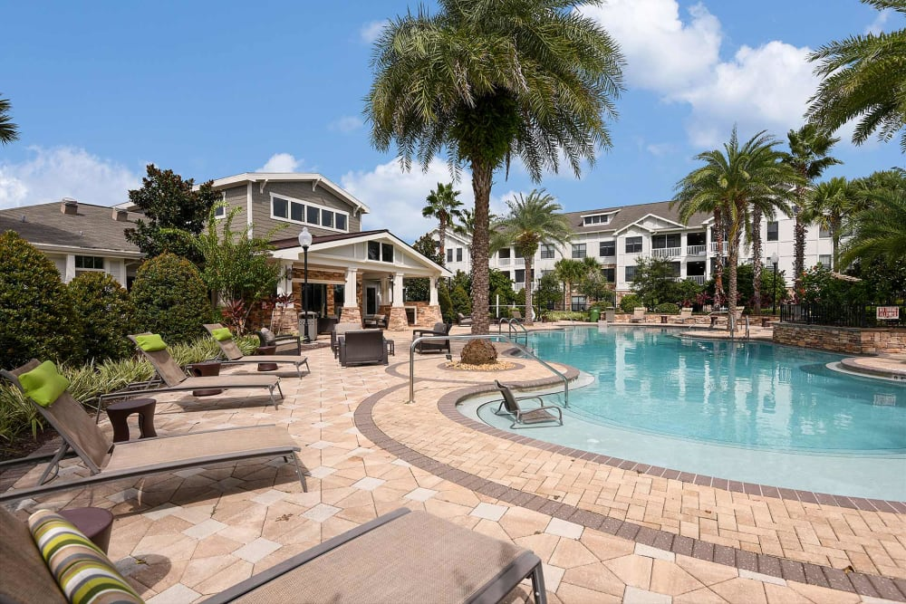 Pool at Terraces at Town Center in Jacksonville, Florida