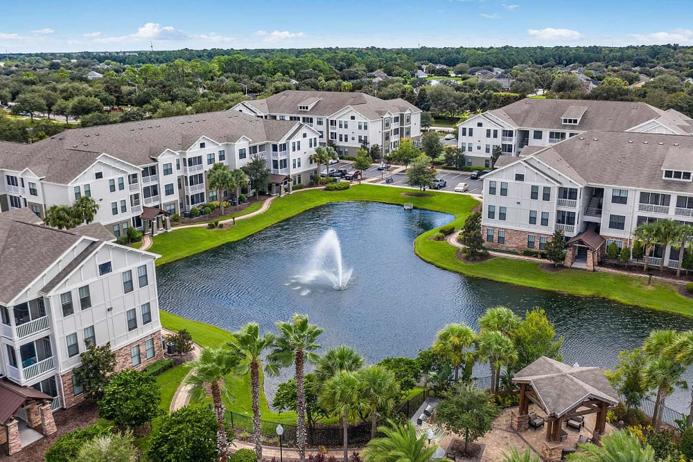 Aerial view of Terraces at Town Center in Jacksonville, Florida
