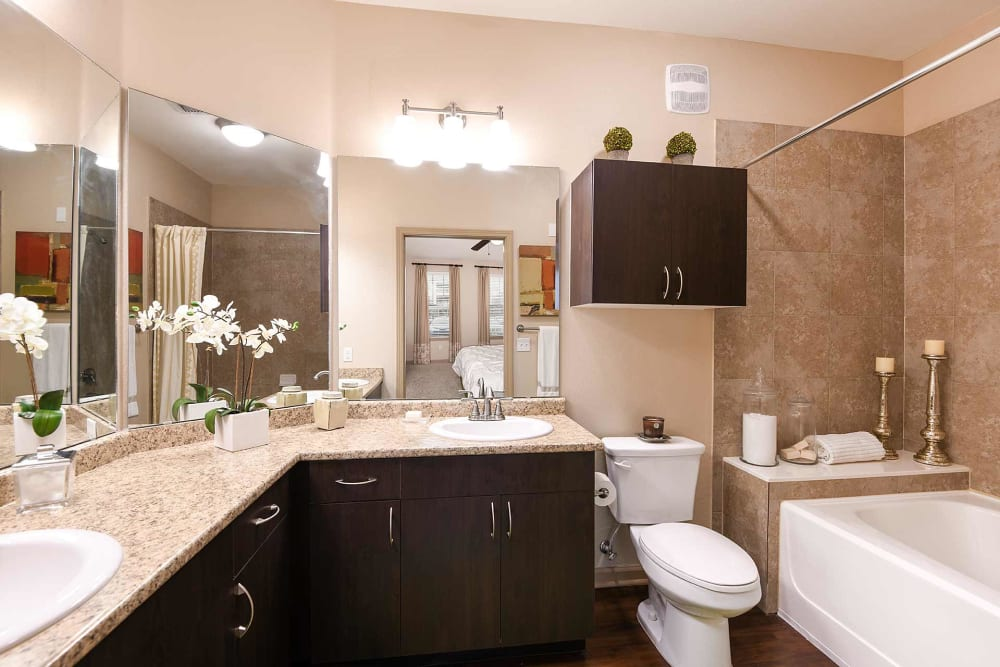 Bathroom at Terraces at Town Center in Jacksonville, Florida