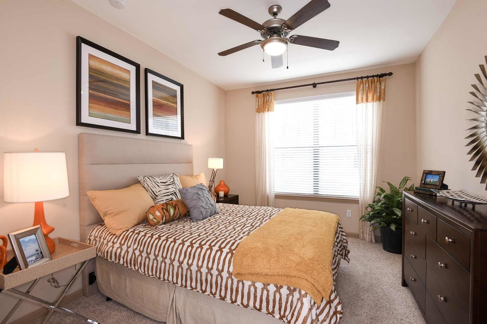 Bedroom with natural lighting at Terraces at Town Center in Jacksonville, Florida