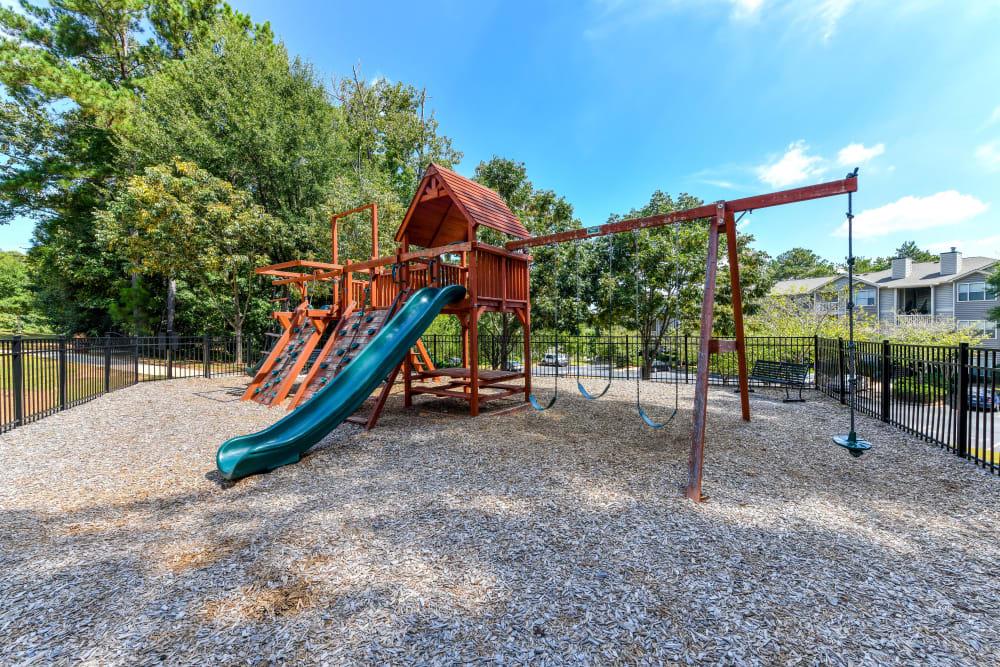 Children's playground at 860 South in Stockbridge, Georgia