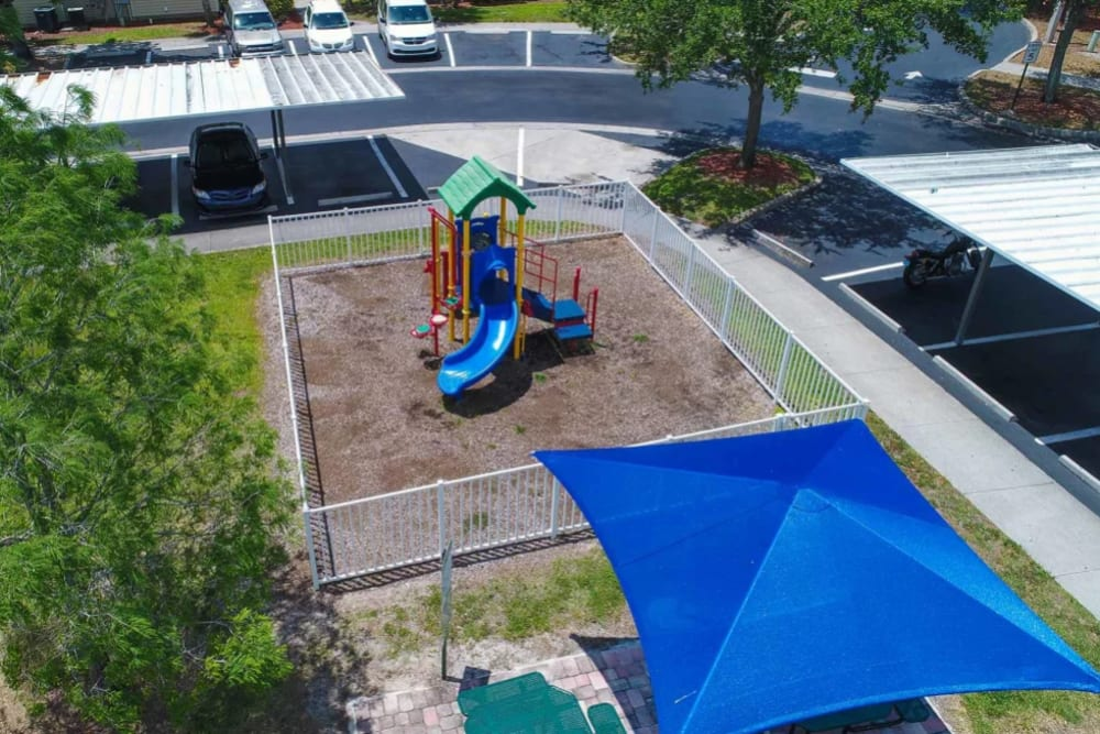 Onsite children's playground at The Coast of Naples Florida in Naples, Florida