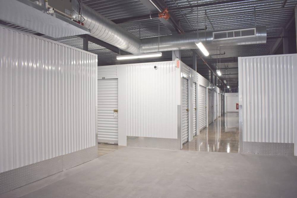 Indoor hallway at Storage 365 in Euless, Texas