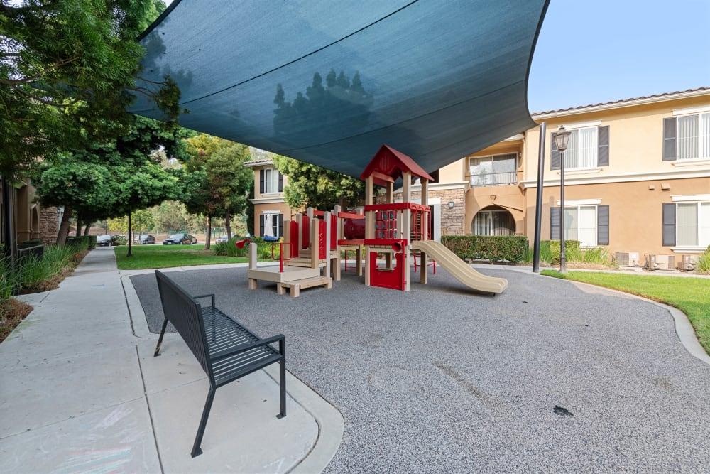 Playground equipment at Sofi Shadowridge in Vista, California