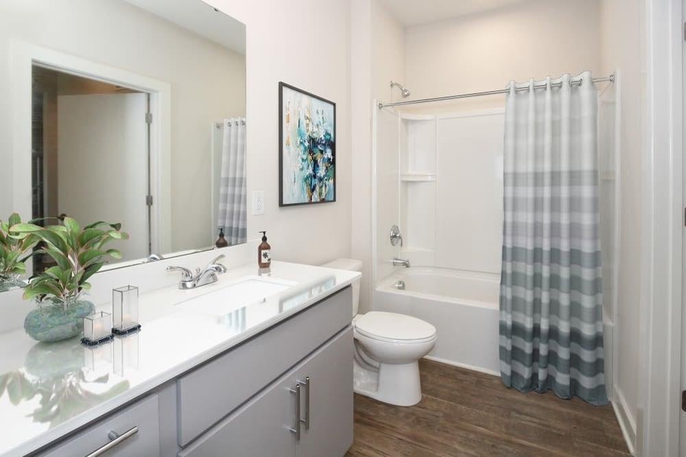 Bathroom at 300 Optimist Park in Charlotte, North Carolina