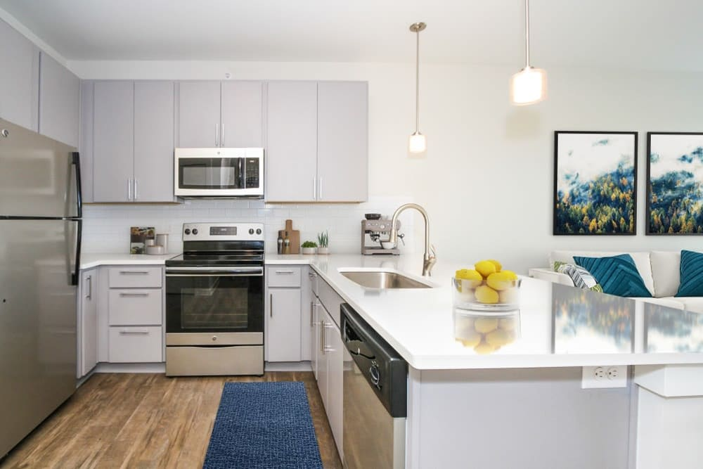 Modern Kitchen at 300 Optimist Park in Charlotte, North Carolina