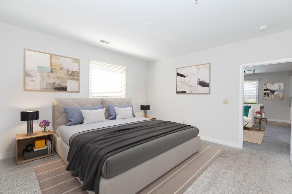 Master bedroom at McBee Station