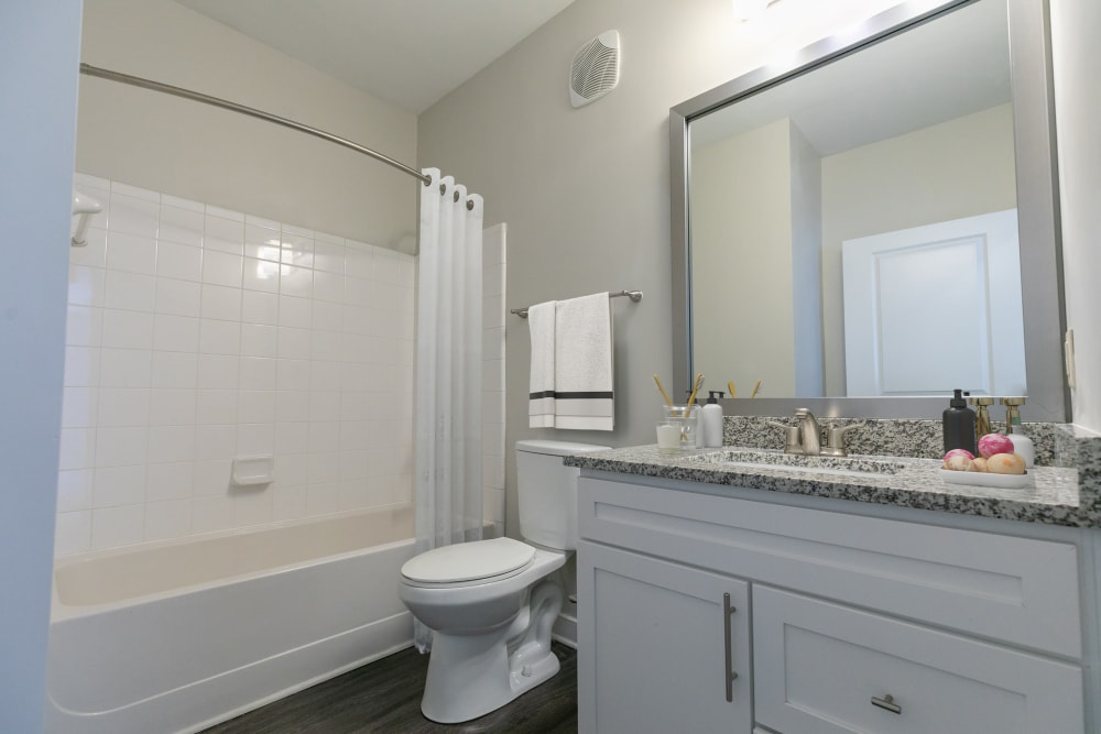 Bathroom at McBee Station in Greenville, South Carolina