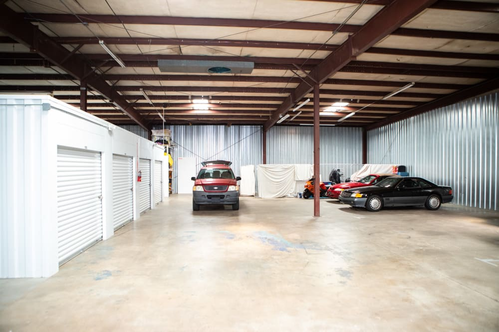Auto storage at AAA Self Storage at Griffith Rd in Winston Salem, North Carolina