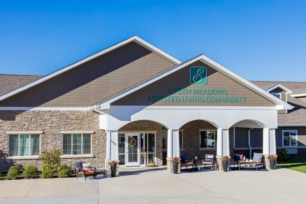 Entrance to Edencrest at Green Meadows in Johnston, Iowa