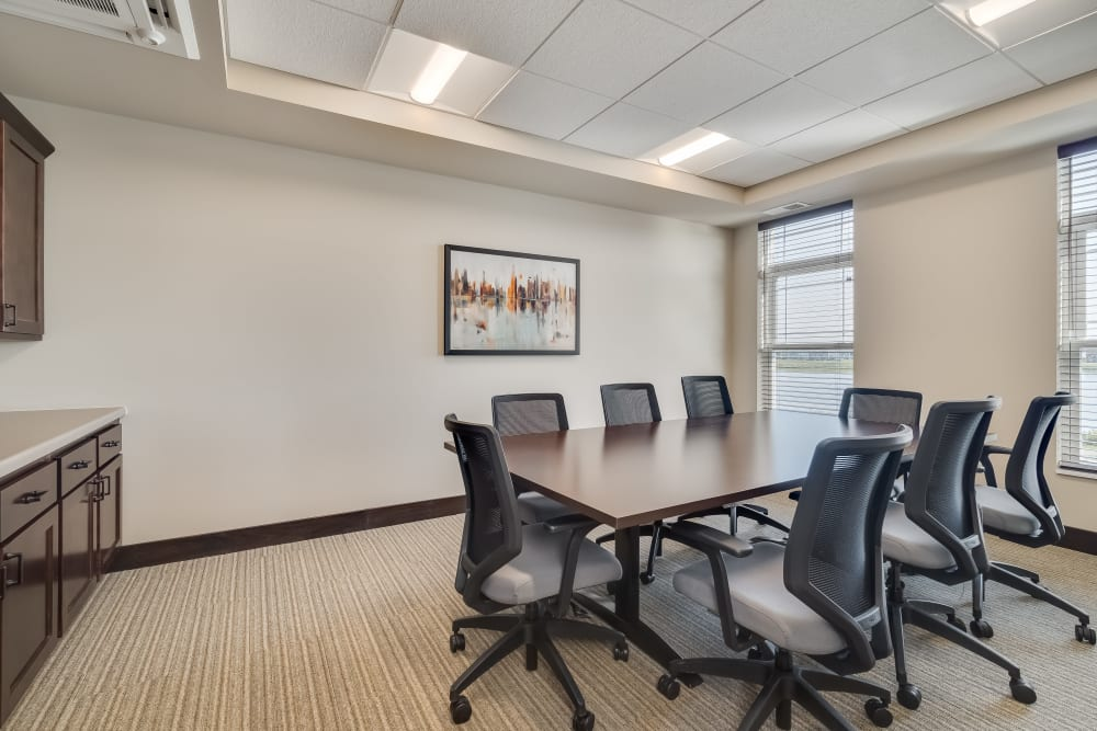 Conference room at Applewood Pointe Maple Grove at Arbor Lakes in Maple Grove, Minnesota