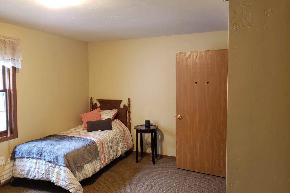 Bedroom at Carolina Assisted Living in Appleton, Wisconsin