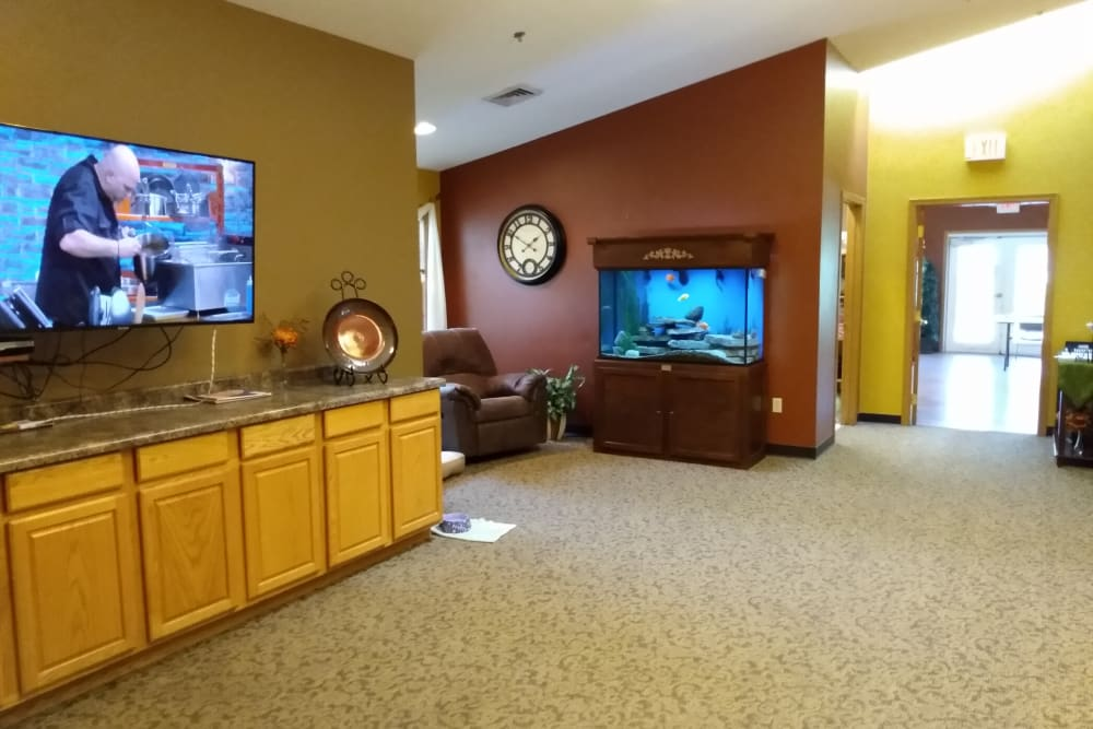 Common area at Marla Vista in Green Bay, Wisconsin