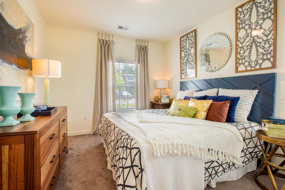 Large master bedroom at Springfield Apartments in Murfreesboro, TN