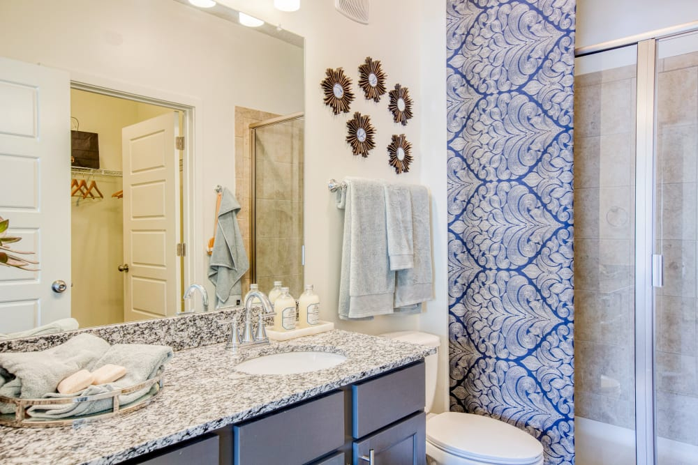 Bathroom at Springfield Apartments in Murfreesboro, TN