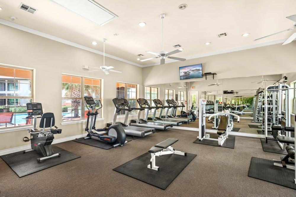 Enjoy Apartments with a Gym at Villas at Medical Center in San Antonio, Texas