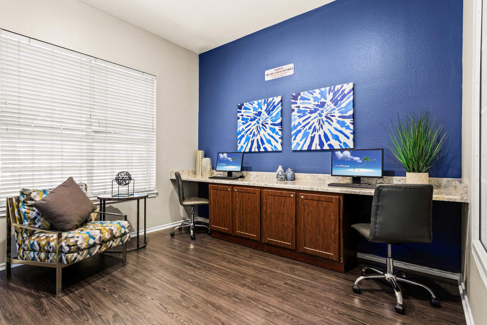 Our Apartments in San Antonio, Texas offer a Business Center