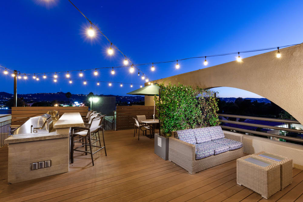 Outside area at Vue at Laurel Canyon in Valley Village, California