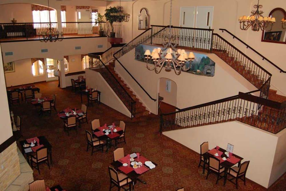 Dining room at Pennington Gardens in Chandler, Arizona