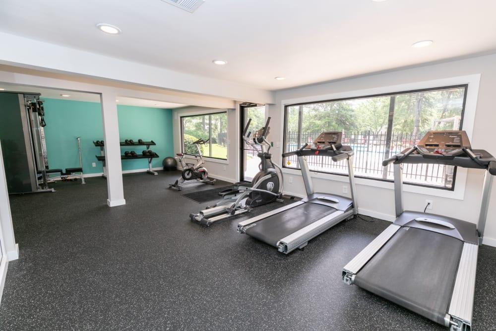 Treadmills at The BelAire Apartment Homes in Marietta, Georgia