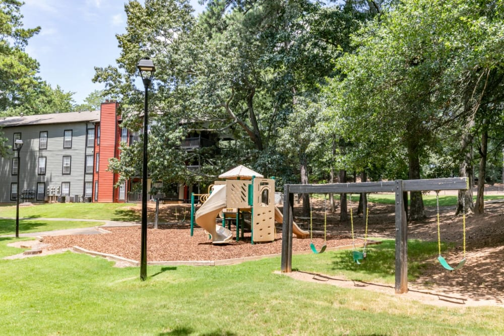 Outdoor playground at The BelAire Apartment Homes in Marietta, Georgia