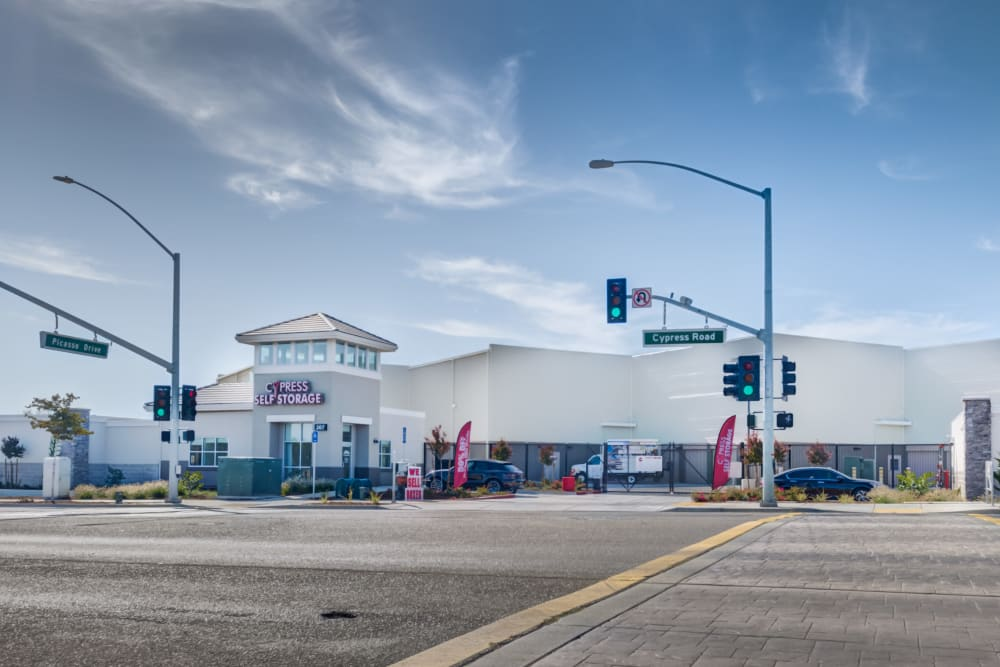 Exterior at Cypress Self Storage in Oakley, California