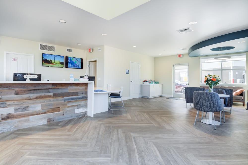 Office interior at Cypress Self Storage in Oakley, California