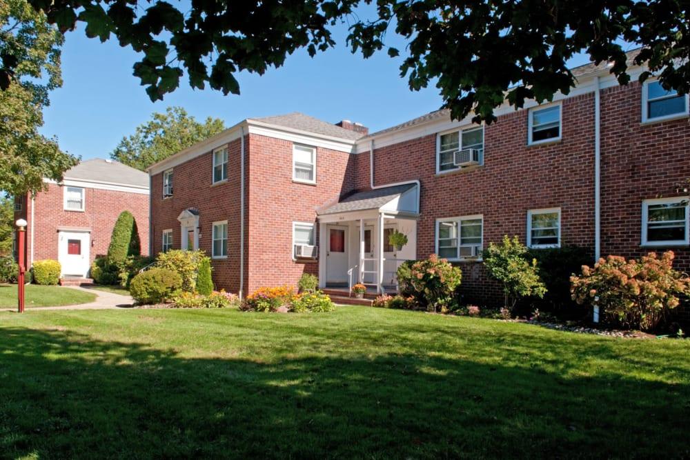 Exterior of Suburban Terrace in Hackensack, New Jersey