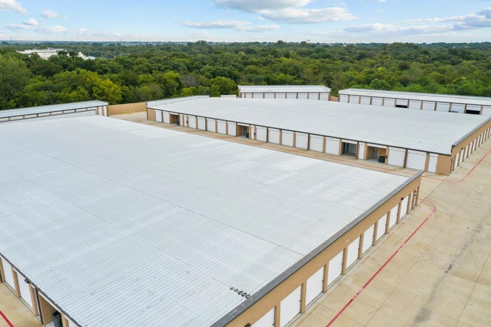 Aerial view of  Storage 365 in Garland, Texas