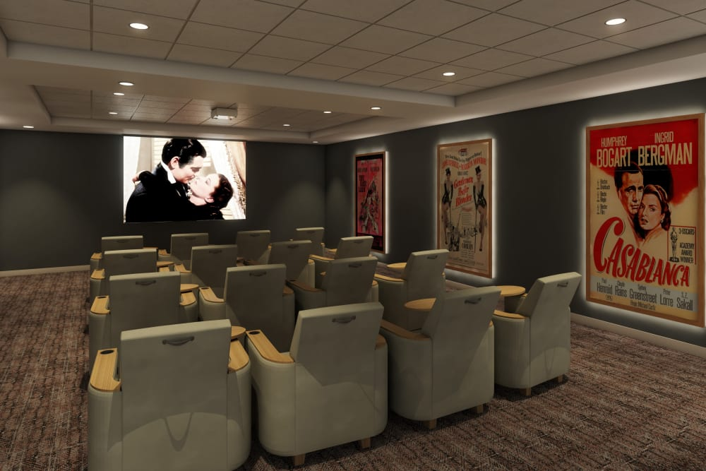 Anthology of Blue Ash in Blue Ash, Ohio has an onsite movie theater