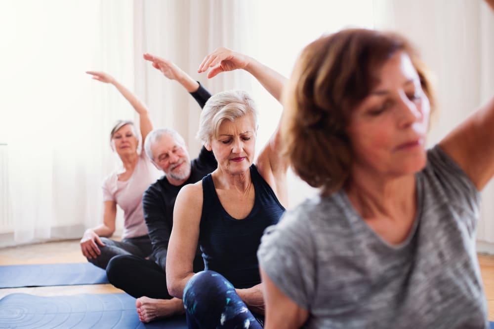 Weekly fitness classes available at Landings of Sauk Rapids in Sauk Rapids, Minnesota