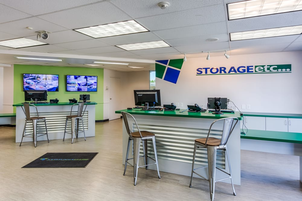 Office at Storage Etc... Los Feliz