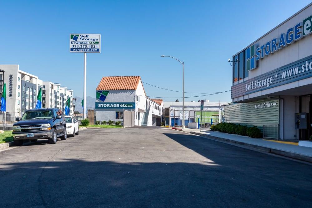 Drive up at Storage Etc... Los Feliz