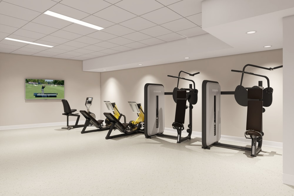 Anthology of Tuckahoe fitness center in Henrico, Virginia