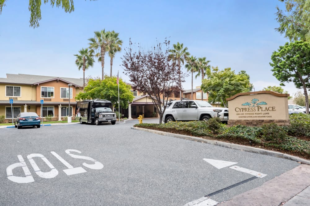 Parking for Cypress Place in Ventura, California