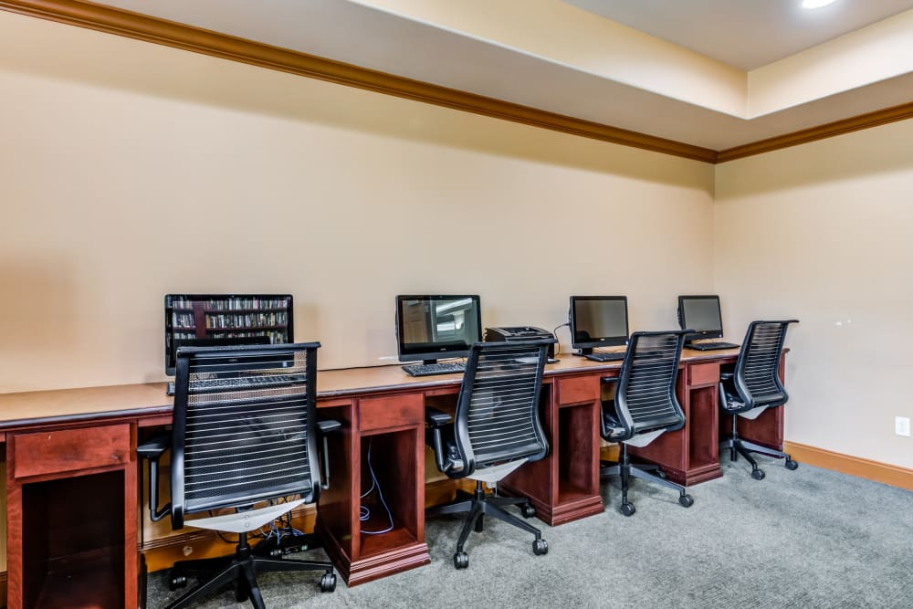 Computers at Cypress Place in Ventura, California