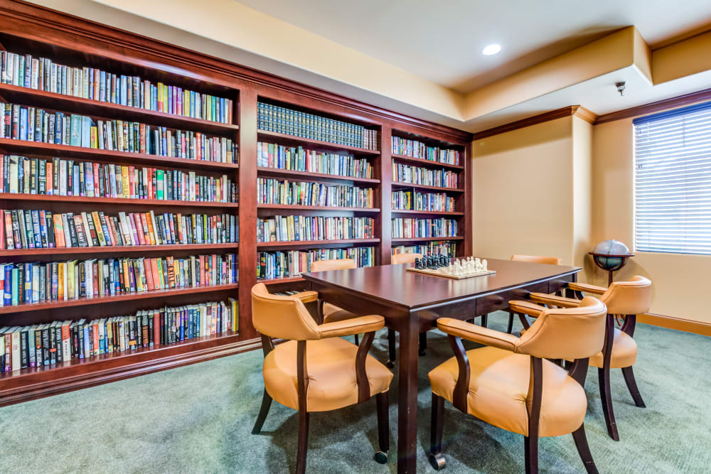 Library at Cypress Place in Ventura, California