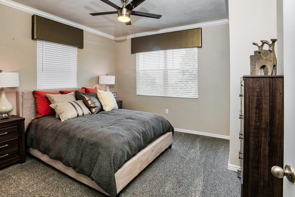 Bedroom at Bella Springs Apartments in Colorado Springs, Colorado