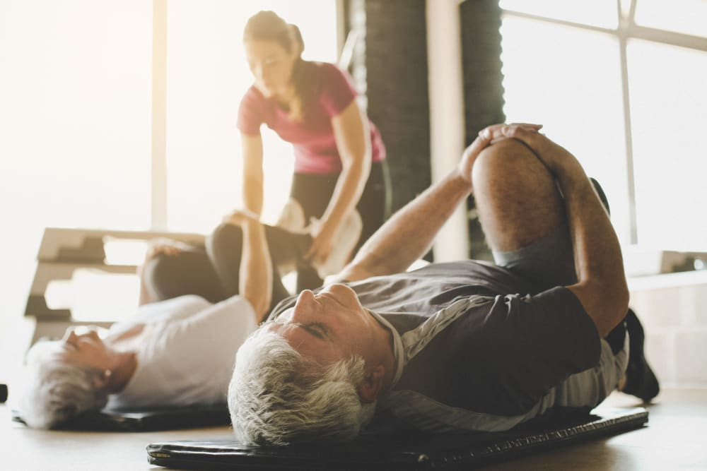 Exercise classes available at Arlington Place of Grundy Center in Grundy Center, Iowa