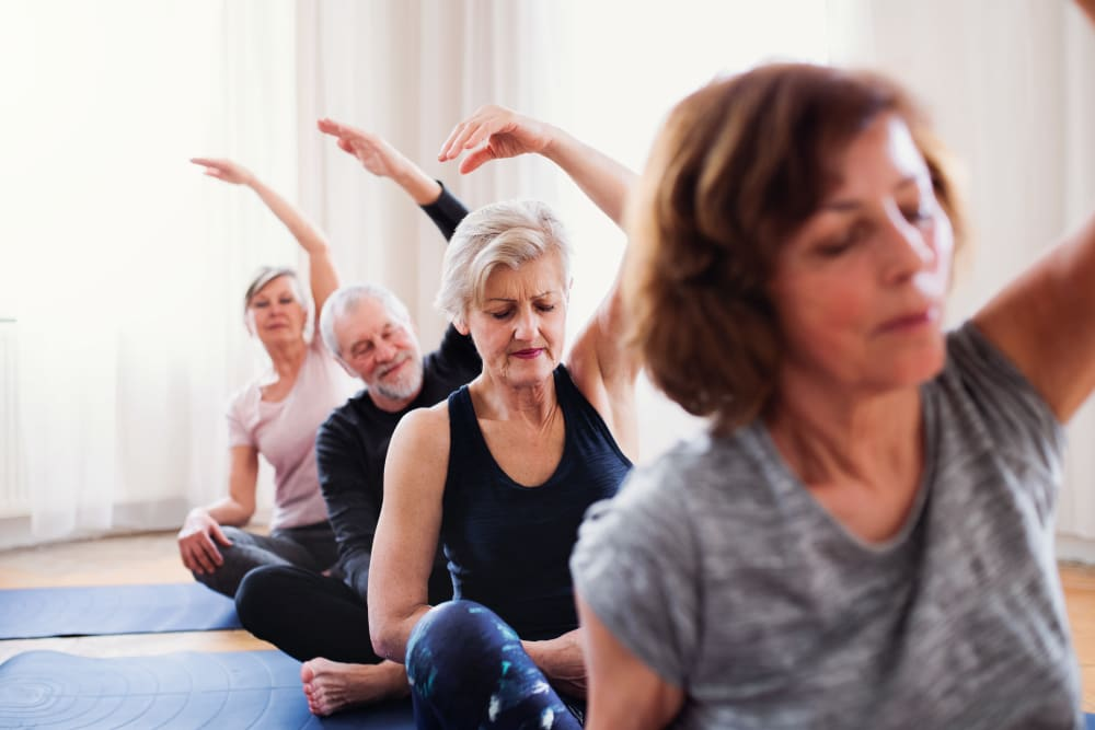 Fitness classes at Arlington Place of Grundy Center in Grundy Center, Iowa