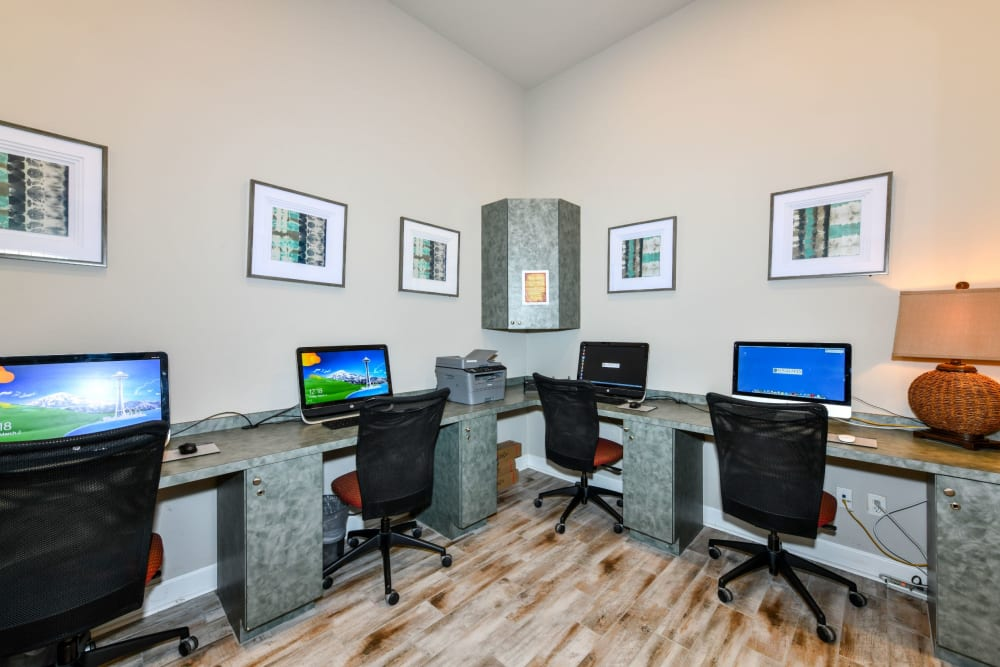 Community business center at Courtney Isles in Yulee, Florida