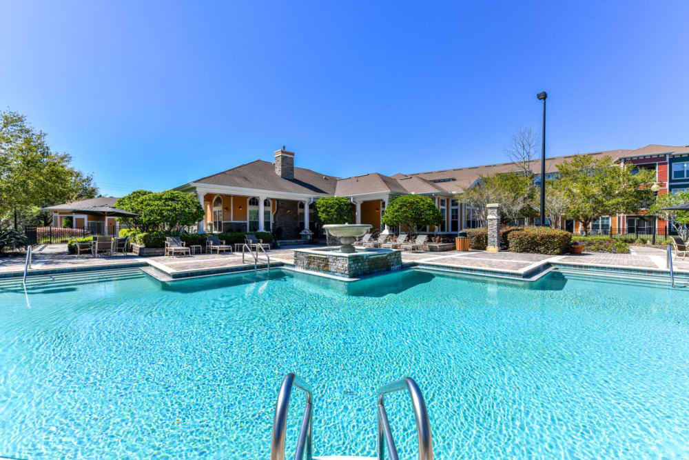 Swimming pool at Courtney Isles in Yulee, Florida