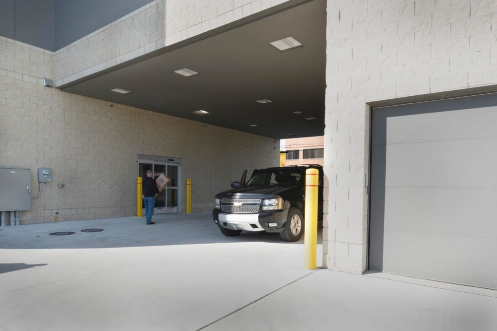 Secure entrance to 1-800-Self-Storage.com in Troy, Michigan