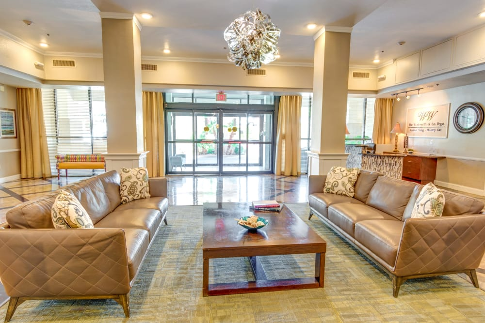 Amenities at The Wentworth of Las Vegas Senior Living