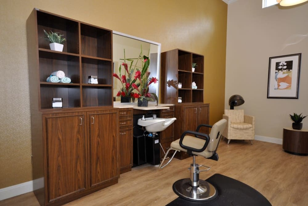 Salon at Legacy at Georgetown in Georgetown, Texas.