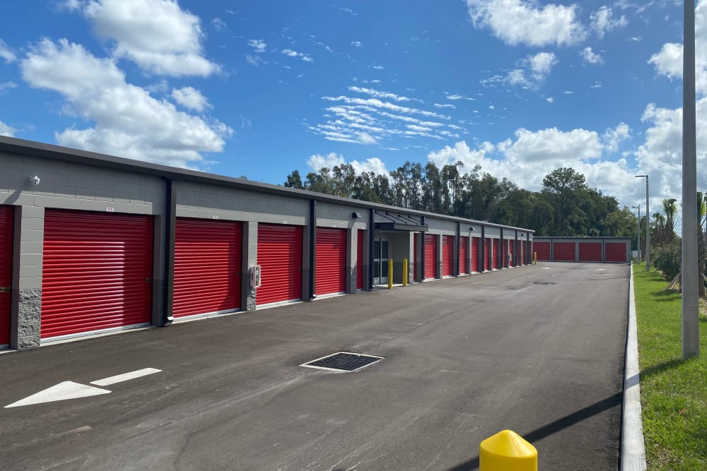 Exterior of unit at Storage Authority Land O' Lakes in Land O' Lakes, Florida