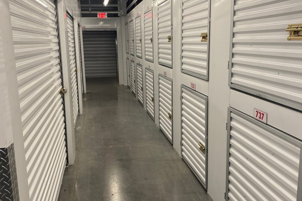 Lockers at Storage Authority Land O' Lakes in Land O' Lakes, Florida
